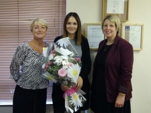 Temp of the Month - Caroline Whitham